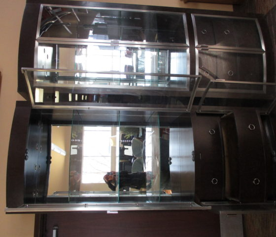 Curio Glass Door Cabinets Twin Cities Used Office Furniture