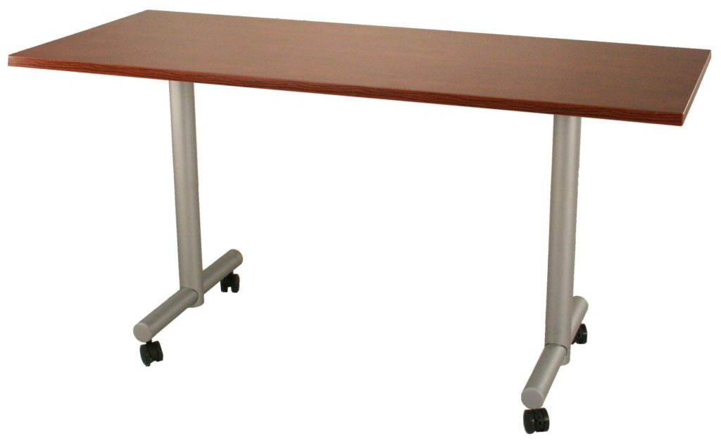 T Leg Mobile Table Twin Cities Used Office Furniture