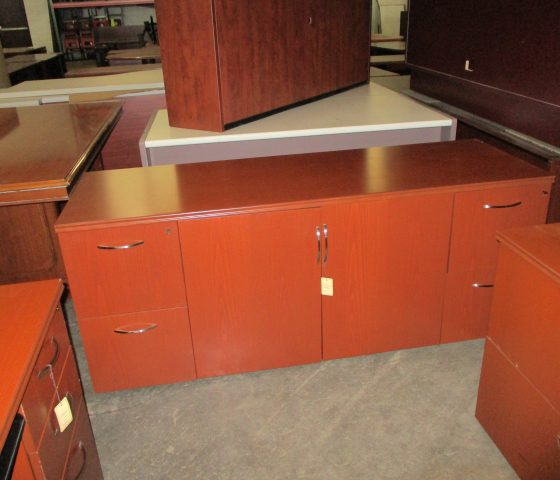 Light Cherry U Shaped Desk Set Twin Cities Used Office