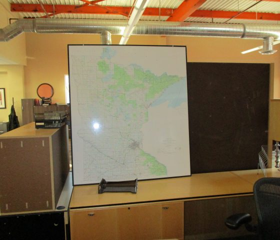 Minnesota Map Twin Cities Used Office Furniture