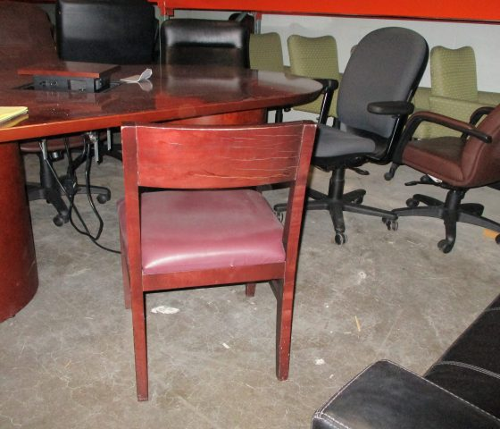 Maroon Dining Room Chairs