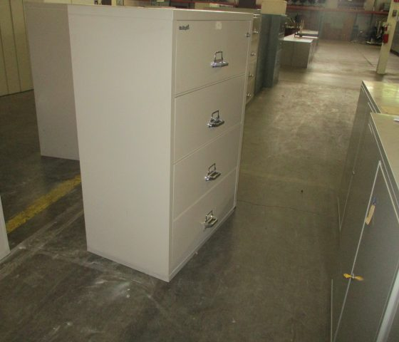 37 5 Quot Wide Fireproof File Cabinet Twin Cities Used
